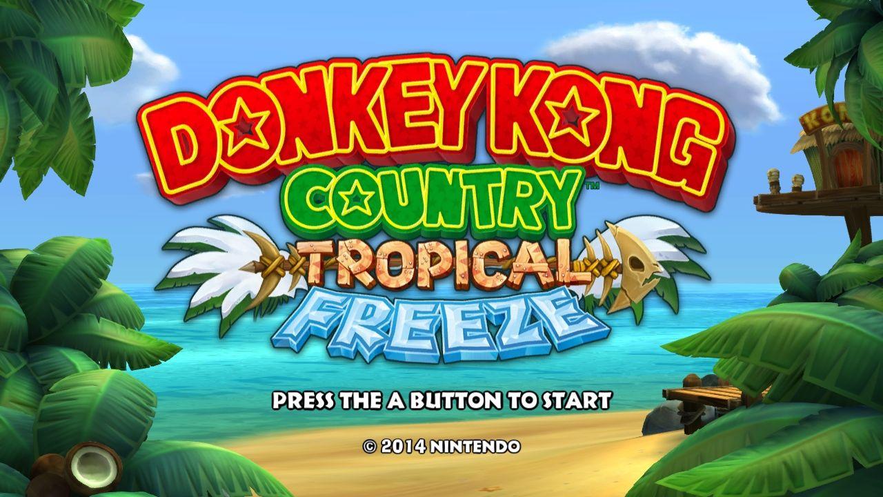 Donkey Kong Country: Tropical Freeze OVP   Jump 'n' Run ...